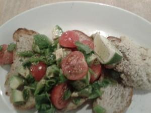 Joes Kitchen Avocado on sourdough 2