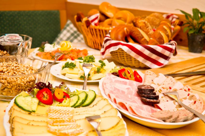 German Breakfast Buffet Istock 000039732694small