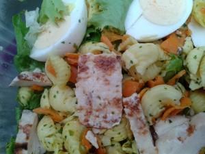 Paris Gare du Nord Malongo salad 1 20140805_155948