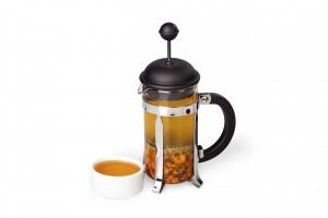 Buckthorn tea with honey