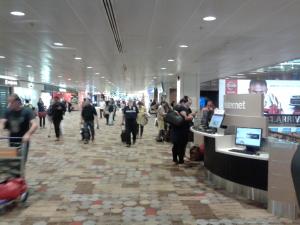 Foraye in Changi Airport