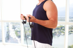 business man with resistance bands iStock_000018449494_Small