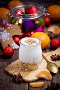 Yogurt in a jar
