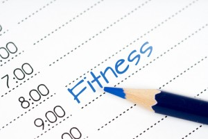 day schedule fitness