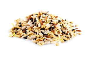 Raw grains