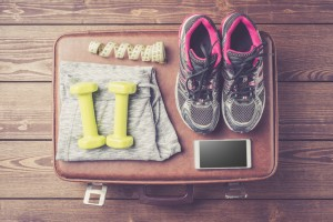 Fitness or sport equipment and clothes