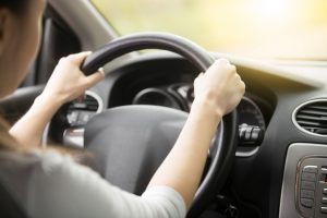 How do I exercise while driving?