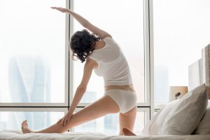 How do I exercise in a hotel room?
