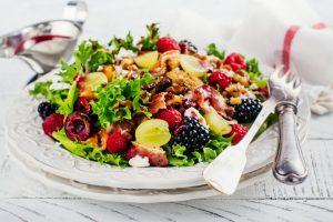 Winter salad for Christmas