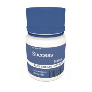 Fake pills for business performance